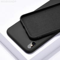 Coque silicone iPhone 6 / 6S Plus noir