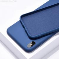 Coque silicone iPhone 6 / 6S Plus bleu foncé