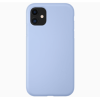 Coque silicone iPhone 6 / 6S Plus bleu lila