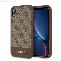 Coque Guess iPhone XR marron