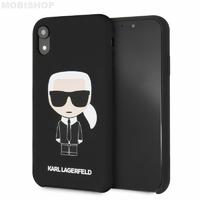 Coque Karl Lagerfeld iPhone XR noir