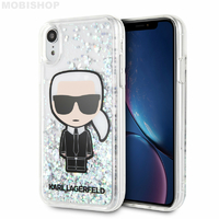 Coque Karl Lagerfeld iPhone XR paillettes