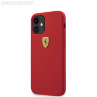 Coque Ferrari iPhone 12 Mini rouge