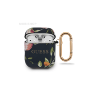 Coque AirPods 1 / 2 Guess flower
