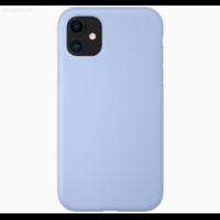 Coque silicone iPhone 7 Plus / 8 Plus bleu lila