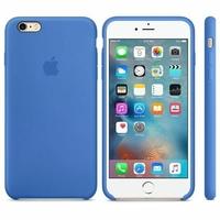 Coque Apple en silicone pour iPhone 6 Plus/6s Plus - bleu