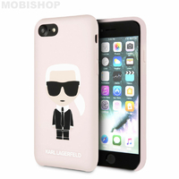 Coque Karl Lagerfeld iPhone 7 8 SE 2020 rose