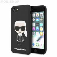 Coque Karl Lagerfeld iPhone 7 8 SE 2020 noir
