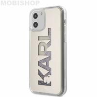 Coque Karl Lagerfeld iPhone 12 / 12 Pro paillettes multicolores