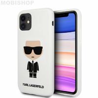 Coque Karl Lagerfeld iPhone 11 blanc