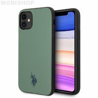Coque iPhone 11 U.S POLO ASSN Ralph Lauren vert
