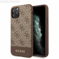 Coque Guess bi-matière marron iPhone 11 Pro