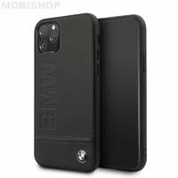 Coque Bmw cuir noir iPhone 11 Pro