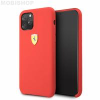Coque Ferrari silicone rouge iPhone 11