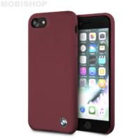 Coque Bmw silicone bordeaux iPhone 7 8 SE 2020