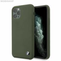 Coque Bmw silicone iPhone 11 Pro Max Kaki