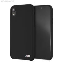 Coque Bmw silicone iPhone XR noir