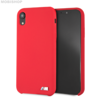 Coque Bmw silicone iPhone XR rouge