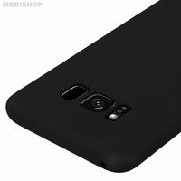 Coque silicone S8 noir
