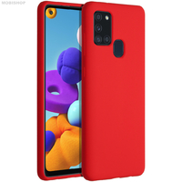 Goospery coque silicone Galaxy A21S rouge
