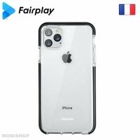 Coque silicone FAIRPLAY GEMINI Galaxy A51 noir