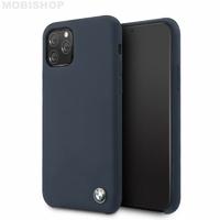 Coque Bmw silicone iPhone 11 Pro bleu