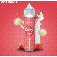 Creamy Strawberry 50ML de Candy Pops - Nicotine : 00mg/50ML