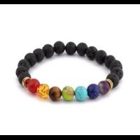 Bracelet perles de pierres naturelles 8mm