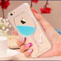 Coque Vin Bleu Silicone iPhone 6