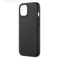 Coque Rhinoshield Solidsuit fibre de carbone iPhone 13
