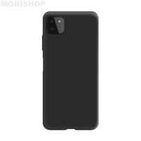 Coque silicone Galaxy A22 4G noir