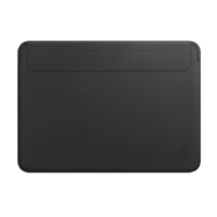 WIWU SKIN PRO Macbook 12'' cuir (Noir)