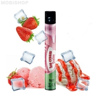 Ice Cream Fraise - Wpuff/Liquideo - Nicotine : 09mg