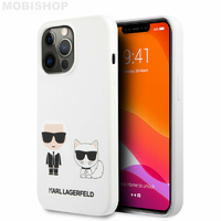 Coque Karl Lagerfeld iPhone 13 Pro Max blanche
