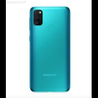 Remplacement vitre arrière Samsung Galaxy M21 M215F verte