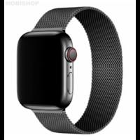 Bracelet en metal noir pour Apple Watch 38/40mm