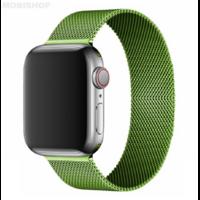 Bracelet en metal vert pour Apple Watch 38/40mm