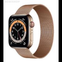 Bracelet en metal or rose pour Apple Watch 38/40mm