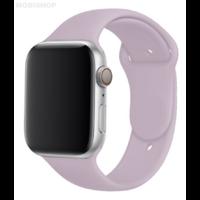 Bracelet en silicone mauve pour Apple Watch 38/40mm
