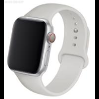 Bracelet en silicone gris pour Apple Watch 38/40mm