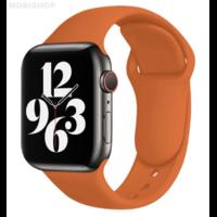 Bracelet en silicone marron pour Apple Watch 38/40mm