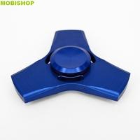 Hand Spinner Métal Bleu