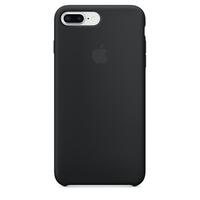 Coque Apple en silicone pour iPhone 8 Plus / 7 Plus - Noir