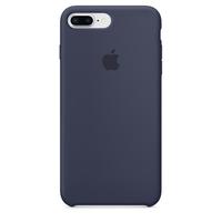 Coque Apple en silicone pour iPhone 8 Plus / 7 Plus - Bleu nuit