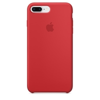 Coque Apple en silicone pour iPhone 8 Plus / 7 Plus - (PRODUCT)RED