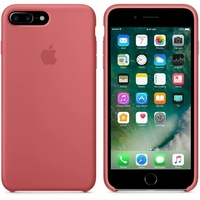 Coque Apple en silicone pour iPhone 8 Plus / 7 Plus - Camellia