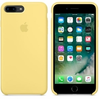 Coque Apple en silicone pour iPhone 8 Plus / 7 Plus - Pollen