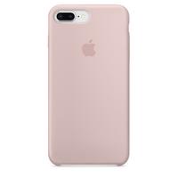 Coque Apple en silicone pour iPhone 8 Plus / 7 Plus - Rose des sables