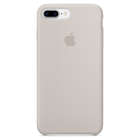 Coque Apple en silicone pour iPhone 8 Plus / 7 Plus - Stone