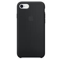 Coque Apple en silicone pour iPhone 8 / 7 - Noir